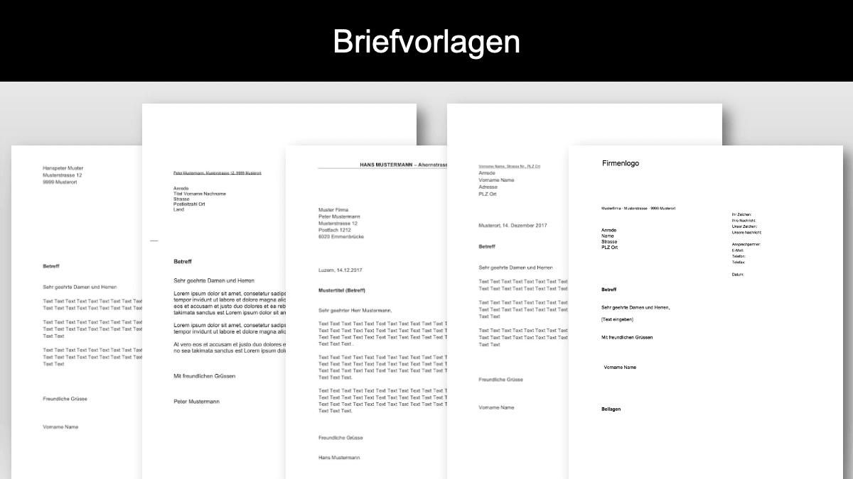 Vorlage A4 Adressfeld Für Fensterkuvert - In 6 Steps Einen ...