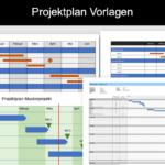 Projektplan Vorlagen