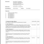 Protokoll Vorlage für Word und Excel