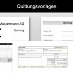 Quittung Vorlage Schweiz