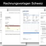 Rechnungsvorlage