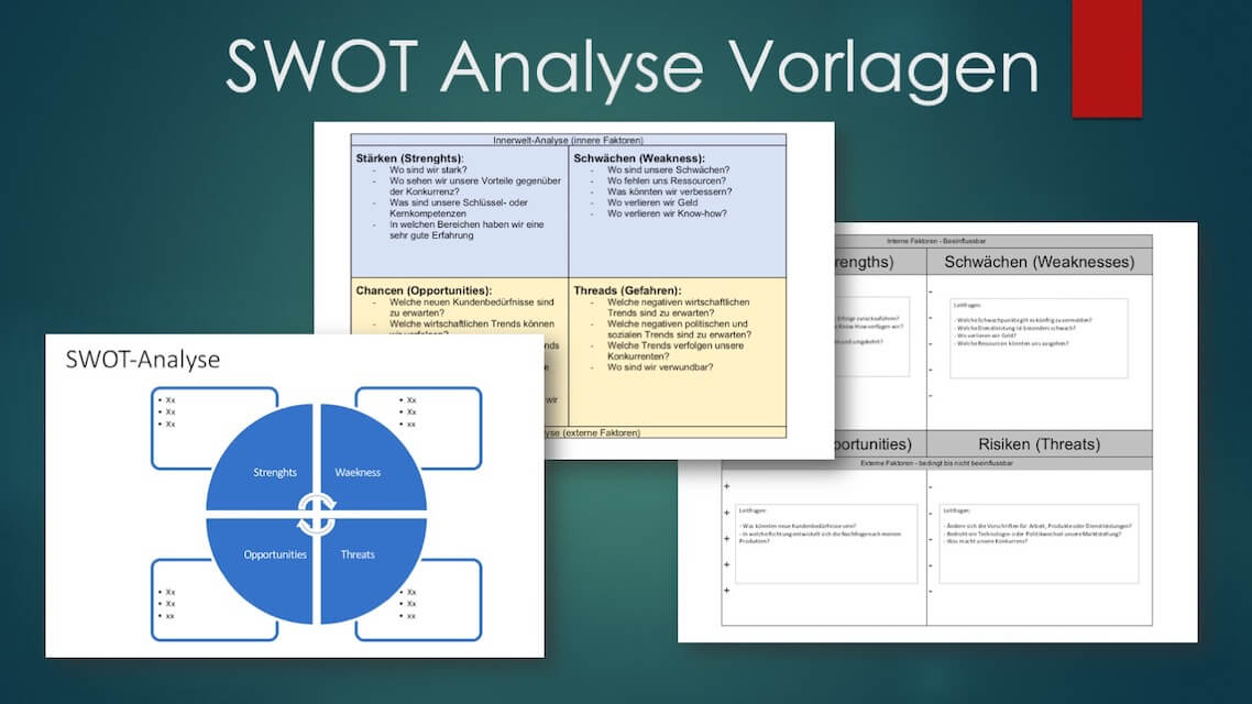 Swot Analyse Vorlage Word Excel Powerpoint Kostenlos Downloaden