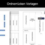 Ordnerrücken Vorlage (Excel & Word)