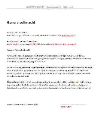 Foto Vollmacht Steuersachen Vorlage Schweiz Folgendes Gehrt Nicht