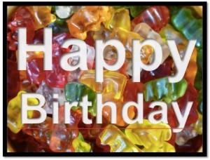 Geburtstagskarte zum Ausdrucken