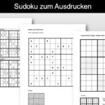 Sudoku zum Ausdrucken