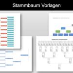 Stammbaum Vorlage (gratis Excel & Word Vorlage)
