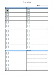 checkliste vorlage muster und vorlagen kostenlos. Black Bedroom Furniture Sets. Home Design Ideas