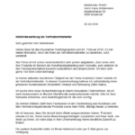 Initiativbewerbung Muster Vorlage Schweiz