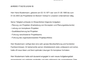 Arbeitszeugnis Vorlage Schweiz Word Muster Vorlagech