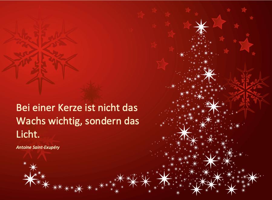 Weihnachtskarte selber drucken