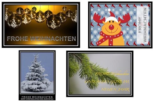 Weihnachtskarten vorlagen kostenlos muster und vorlagen - Weihnachtskarten kostenlos gestalten und drucken ...