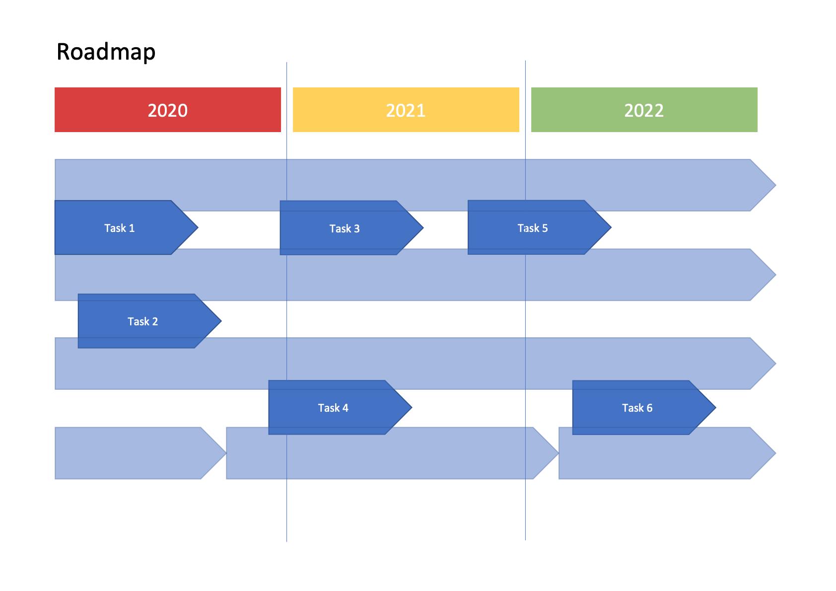 Roadmap Vorlage Word