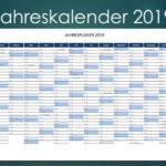 A3 Kalender 2019 Schweiz (Excel & PDF)