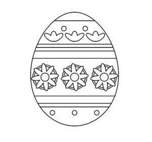Ausmalbilder Ostereier Vorlagen Zum Ausdrucken Muster Vorlage Ch