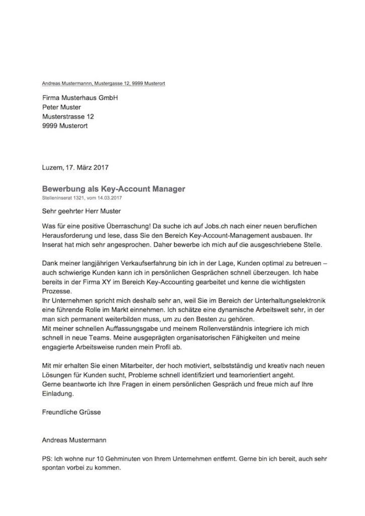 Bewerbung anschreiben schweiz bewerbungsschreiben 2018 for Interior design ausbildung schweiz