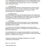 Vorsorgeauftrag Muster & Vorlage (Schweiz)