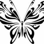 Schmetterling Vorlage 1