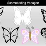Schmetterling Vorlagen