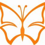 Schmetterling Vorlage 10