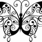 Schmetterling Vorlage 4