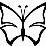 Schmetterling Vorlage 8