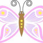 Schmetterling Vorlage 9