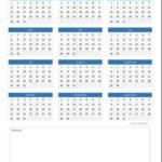 Immerwährender Kalender Vorlage (Excel)