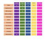 Ämtliplan Vorlage (Excel-Format)
