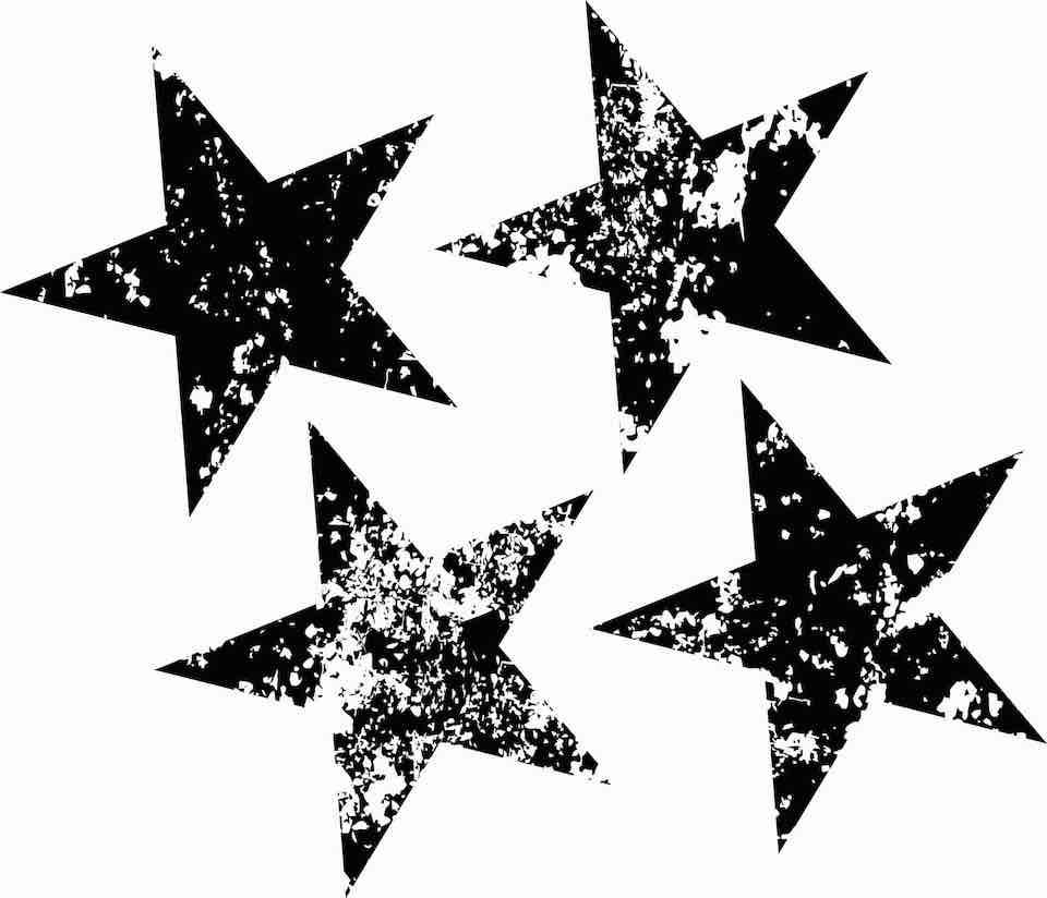 Stern Vorlage zum Ausdrucken | Muster-Vorlage.ch