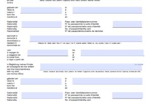 Vollmachten Verträge Archive Muster Vorlagech
