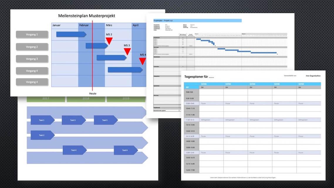Projektplanung Vorlagen