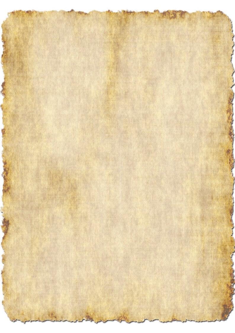 Vorlage vergilbtes Papier