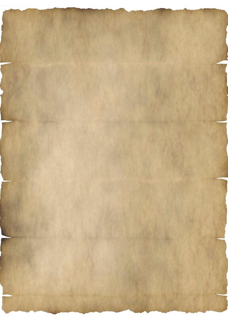 Altes Papier Vorlage Word