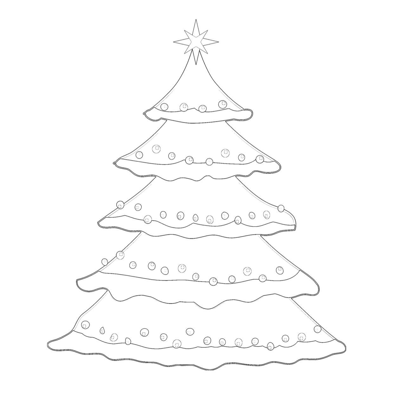 schablonen zum ausdrucken kostenlos tannenbaum
