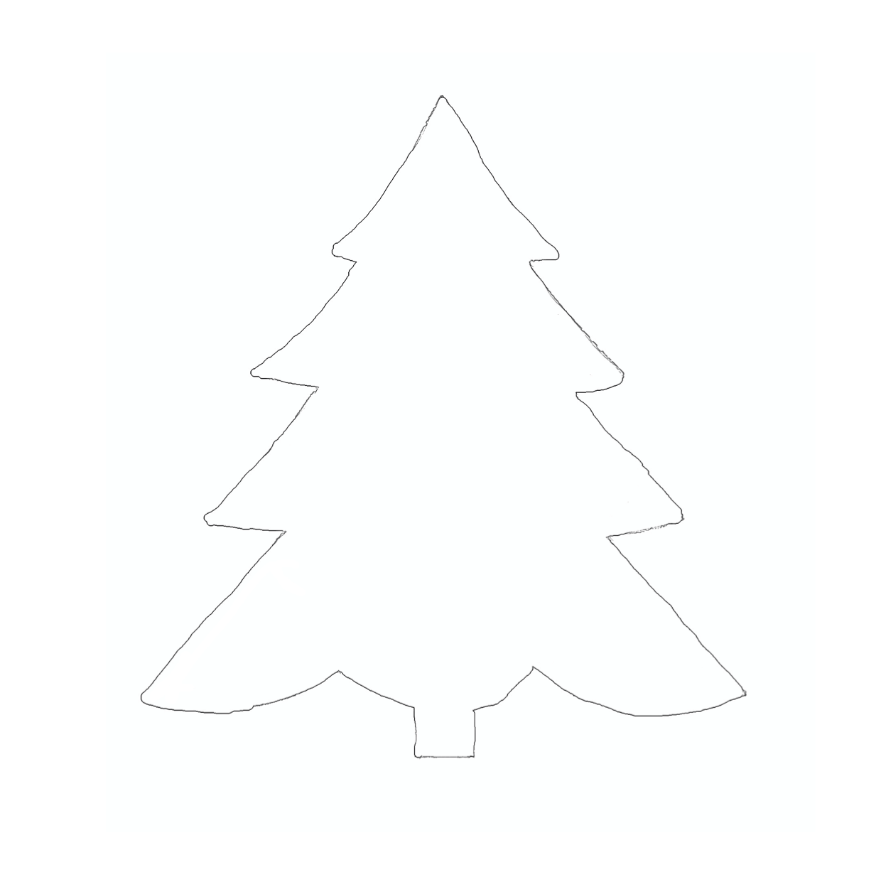 Weihnachtsbaum Vorlage Weihnachtsbaum Vorlage