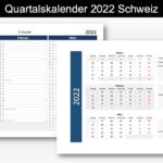 Quartalskalender 2022
