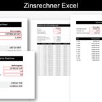 Zinsrechner Excel Vorlage