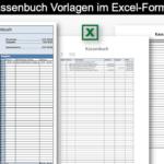 Kassenbuch Vorlage Excel (Schweiz)