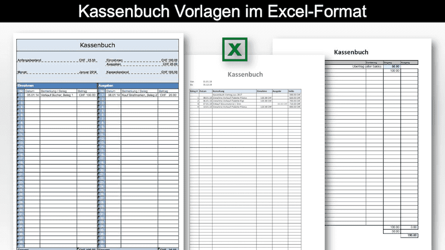 Kassenbuch Vorlage Excel