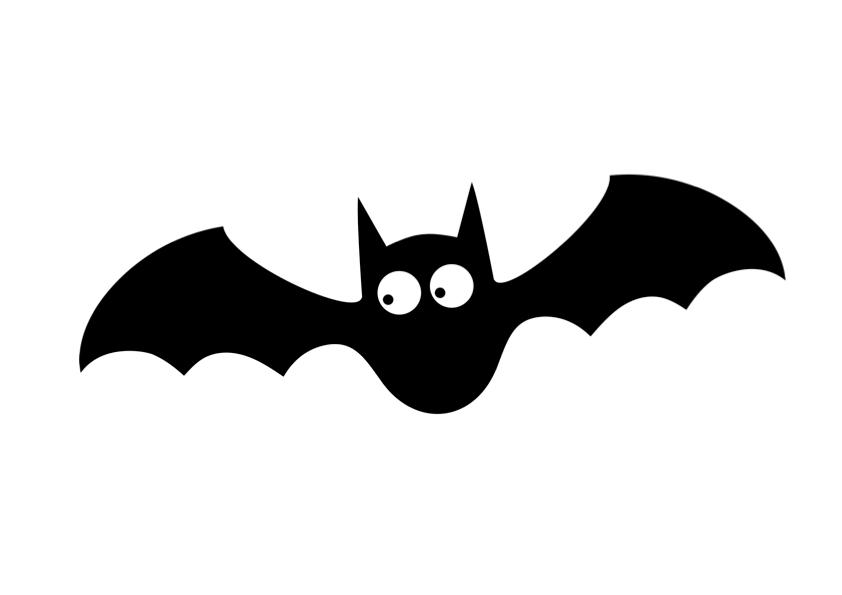 Fledermaus zum Ausdrucken