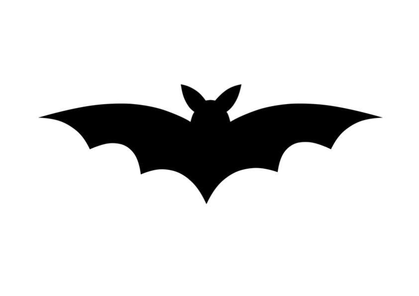 Fledermaus Halloween Vorlage